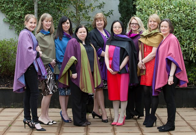 Left to Right: Alma Jordan (AgriKids, Meath), Nessa Duggan (Rightify, Louth), Lisa Marie Clinton (Avail Support, Monaghan), Collette McGowan (Stripe Marketing, Leitrim), Anne Reilly (ACORNS Lead Entrepreneur & MD of Paycheck Plus, Louth), Jing Farrelly (Zatino Travel, Meath), Mila Khokha (Baked with Love, Monaghan), Catriona Whyte (Naul Brewing Company), Siobhan Quinn (Ballyboy Design, Longford).