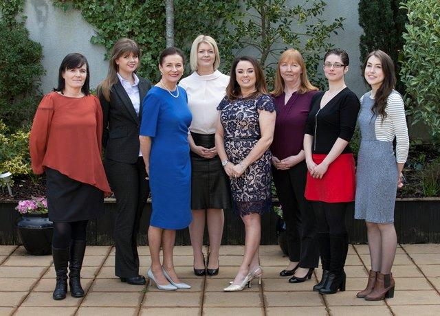 Pictured from LtoR – Helen McArdle (Feedthepulse, Claregalway), Ciara Shine (Shine's Seafood, Killybegs), Deirdre McGlone (Lead Entrepreneur and Harvey's Point), Martha Kearns (Storylab, Sligo), Aisling Gillespie (Bidlims Moods, Letterkenny), Wendy Kavanagh (Irish Food Tours, Kildare), Jenny Lawlor (Sligo), Ruth Graham (Aye Do, Letterkenny)